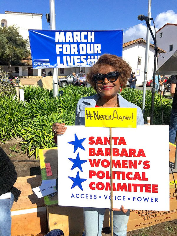Anna @ March4OurLives SB