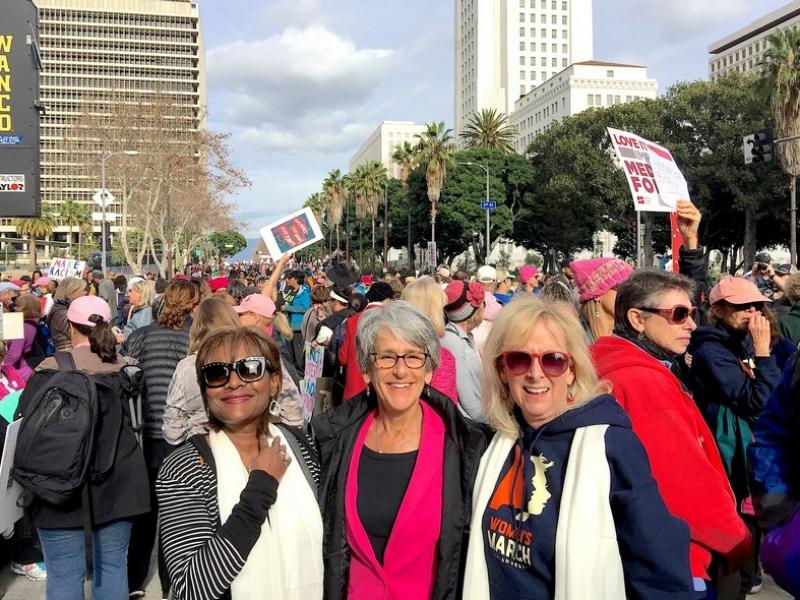 Anna@Women_s March LA